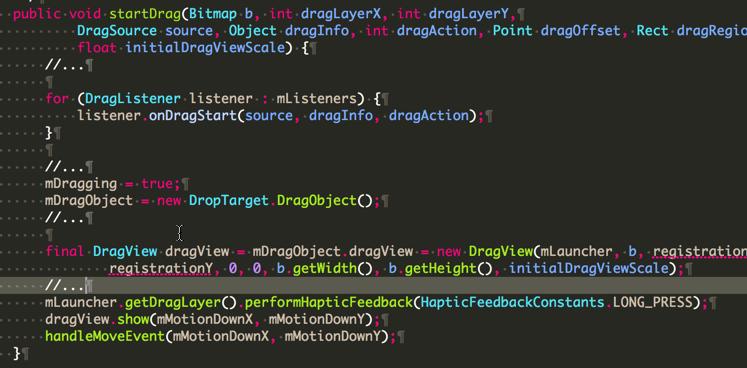 startDrag-dragcontroller